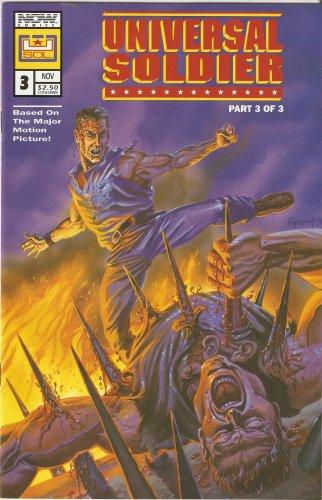 Universal Soldier #3 November 1992