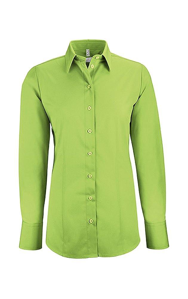 Greiff Damen-Bluse BASIC, Regular Fit, Stretch, easy-care, 6515, mehrere Farben