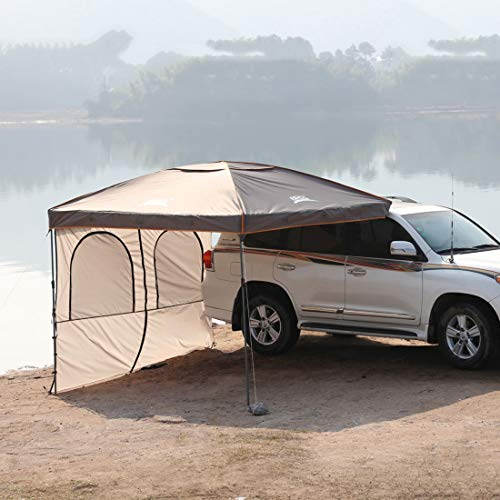 Outdoor Camping Tent for Auto Traveling, Family Sun Shelter, Car Top Tent, Light Weight Waterproof, Anti-uv Tent for…