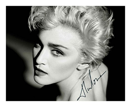 Madonna Signed Autographed 8 x 10 Photo