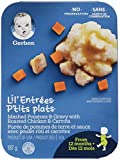 GERBER LIL'ENTRÉES Mashed Potatoes & Gravy with Roasted Chicken, 8 x 187 g (Pack of 8)