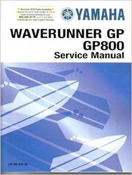 yamaha xl800 waverunner shop manual 1999 2004