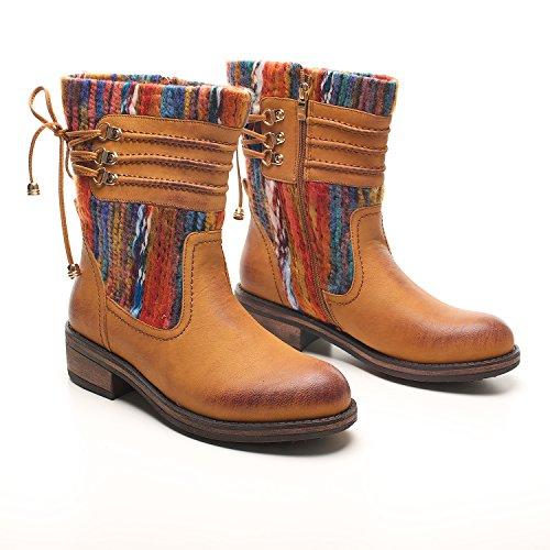 Footwear Botas mujer para Sensation Marrón canela 88xrq6