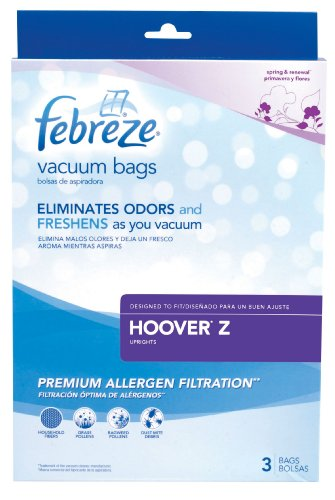 Febreze Hoover Z Replacement Vacuum Bag, ()