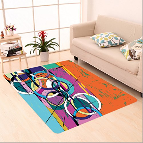 Somerset Multi Colored Rectangle Rug - 8