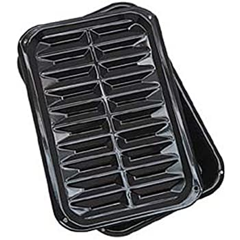 ProBake Bake ElimProBake Bake Teflon Non-Stick Baking Pan And Roasting Pan Set With Chrome Broiler Rack and Roast Pan 3-Pieceinates Fat For Healthy Cooking G/&S Metals PB7992 Broil and Roast Pan 3-Piece Set Broil