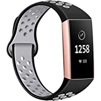 Adjustable Soft Silicone Band for Fitbit Watch Breathable Soft Strap Bracelet Fitness Activity Tracker Accessories Small