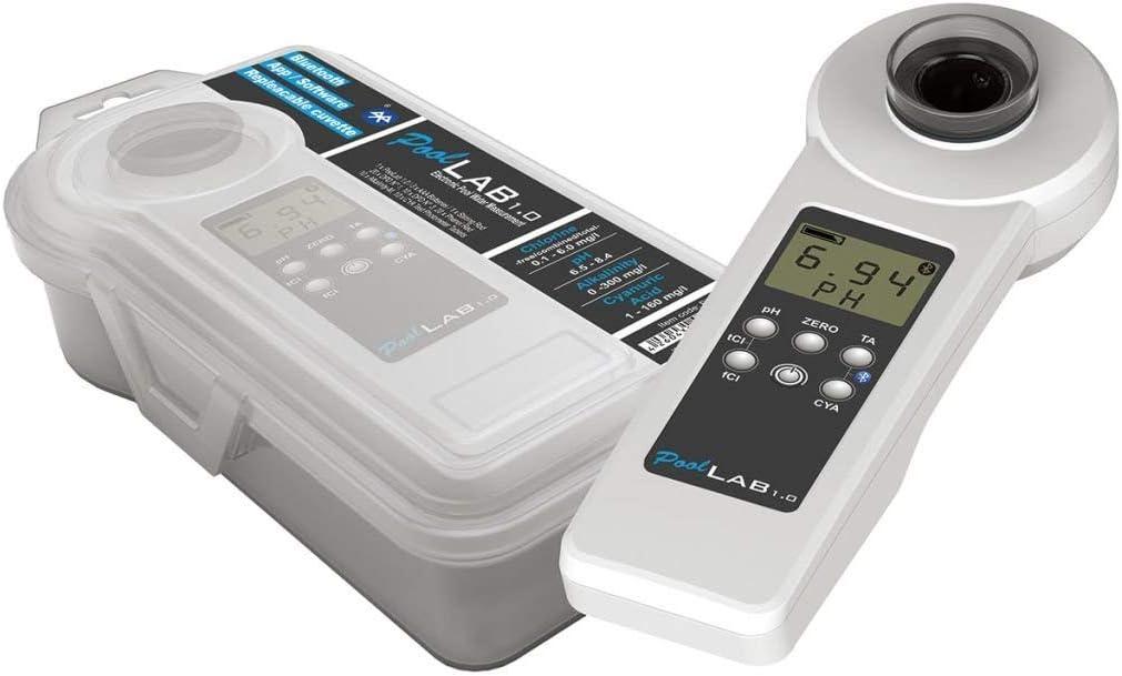 Pool Improve Fotómetro Tipo Portátil Modelo POL01 de Colores Blanco y Negro