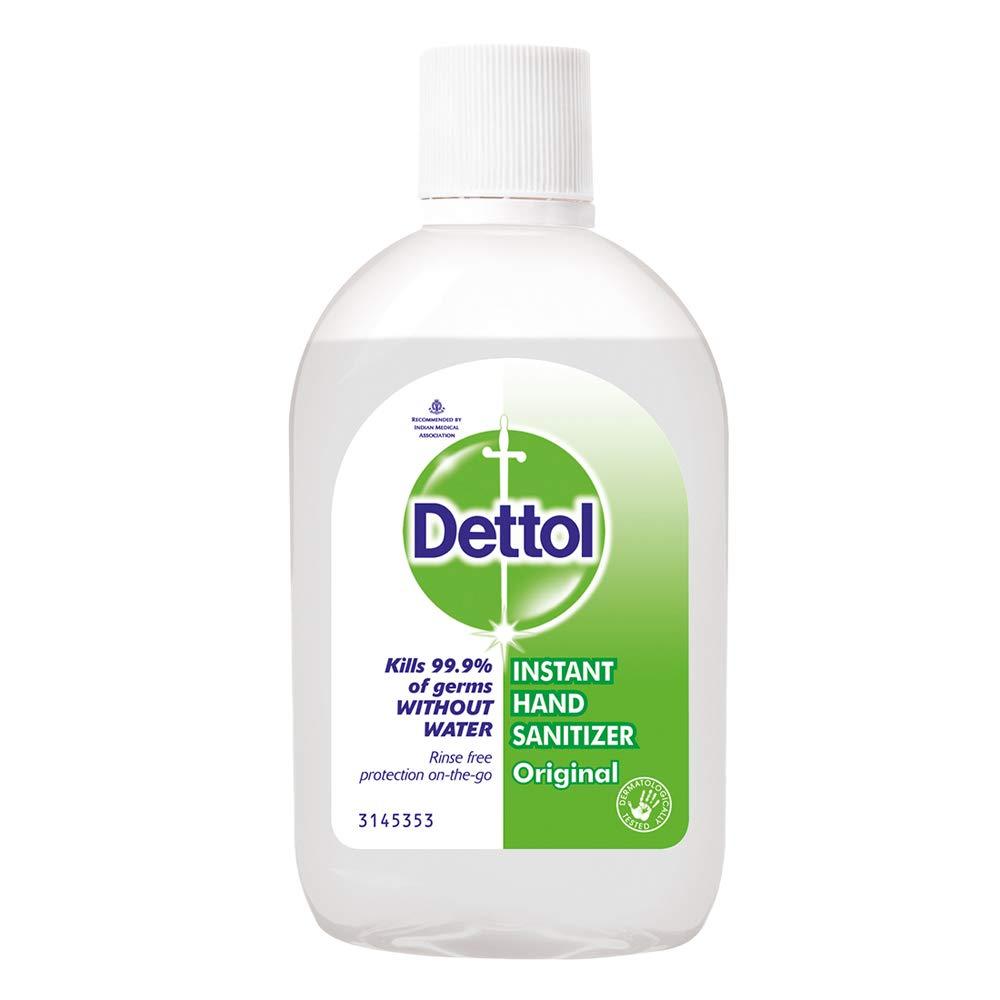 Dettol Instant Hand Sanitizer, 60ml