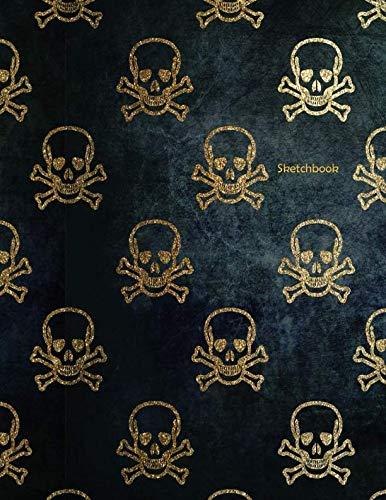 Sketchbook: Skulls Pattern Design - A Halloween Themed