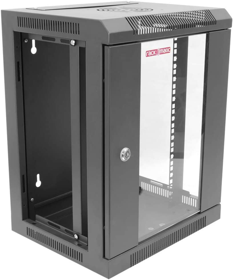 RackMatic Server Rack Schrank 10 9HE 370x300x480mm Modell TENRack PRO