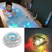 Bath LED Light Toy, Leagway LED Lights Multi Color Light Up Bathtub Toys For Kids Girls Boys, Bathing Tub LED Light for Party, Living Room, Bathroom, Bathtub, Swimming Pool, Bar, Christmas