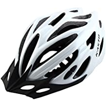 DealMux Adult Unisex 21 Holes Portable Cycling Cap Head Safety Protector Riding Hat Adjustable Biking Helmet