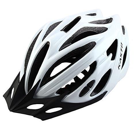 eDealMax Adulto Unisex 21 hoyos Ciclismo portátil tapón de seguridad Protector de cabeza Ajustable Gorra de