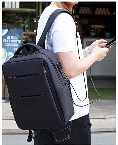 Zq Semplice Casual Borsa Cartella Coreano Studentessa Computer Uomo Business Tendenza Da Viaggio Nero Moda Zaino qwxRwPBdC