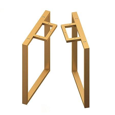 Patas de Mesa rústicas para Muebles, rectángulo, de Metal ...