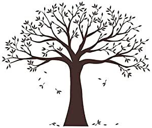 Family Tree Wall Decal by Simple Shapes (Chestnut Brown