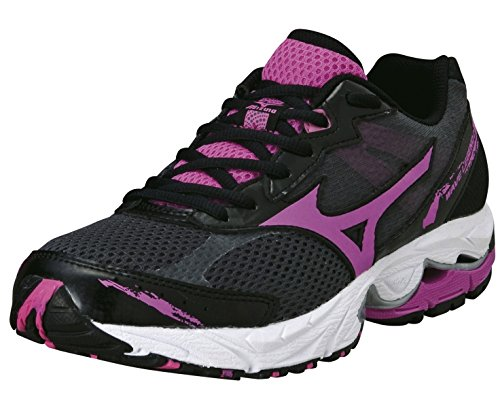 Mizuno Wave Legend 2 Road Running Shoes Black/Pink Womens