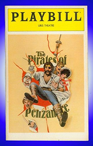 The Pirates of Penzance, Broadway Playbill + Kevin Kline , Linda Ronstadt , Tony Azito