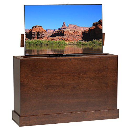 - Azura 360 Degree Swivel in Sonoma Finish TV Lift Cabinet