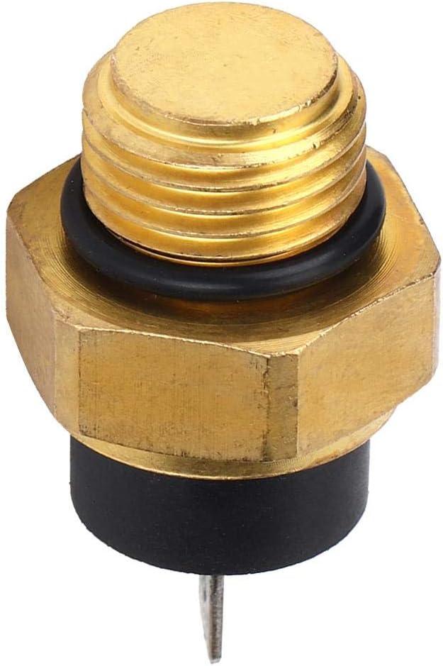 Outbit Interruttore Termico del radiatore Interruttore Termico della Ventola del radiatore 37760-MT2-003