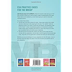 CSA Practice Cases for the MRCGP Paperback – 28 Jan. 2016