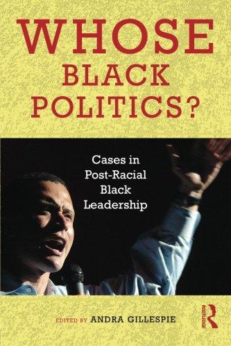Search : Whose Black Politics?: Cases in Post-Racial Black Leadership