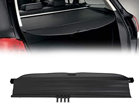 For 09 13 Subaru Forester Manual Door Tonneau Cargo Cover Security Trunk Shield