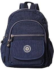 Veenajo Lightweight Backpack Durable Small Daypack for Women Waterproof Handbag