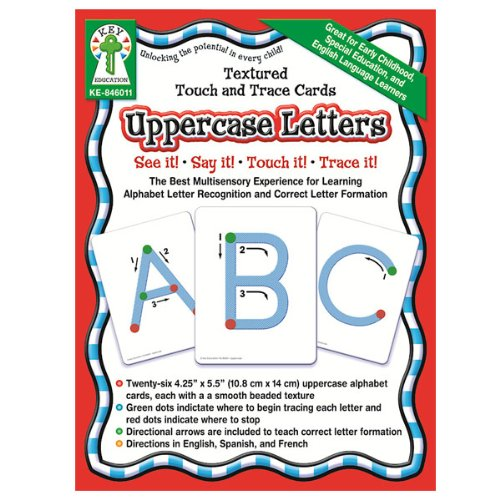 - Textured Touch and Trace Cards- Uppercase Letters