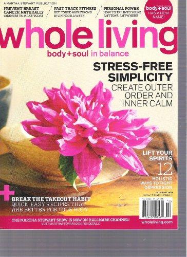 Whole Living Magazine (October 2010)