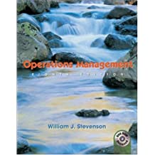 Amazon william j stevenson books biography blog audiobooks operations management with student dvd and power web fandeluxe Image collections