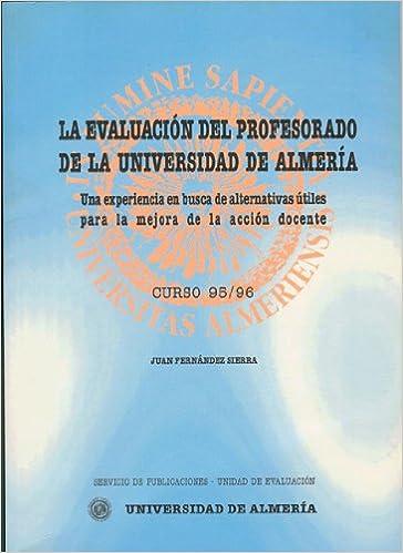 Amazon.com: LA EVALUACION DEL PROFESORADO DE LA UNIVERSIDAD ...