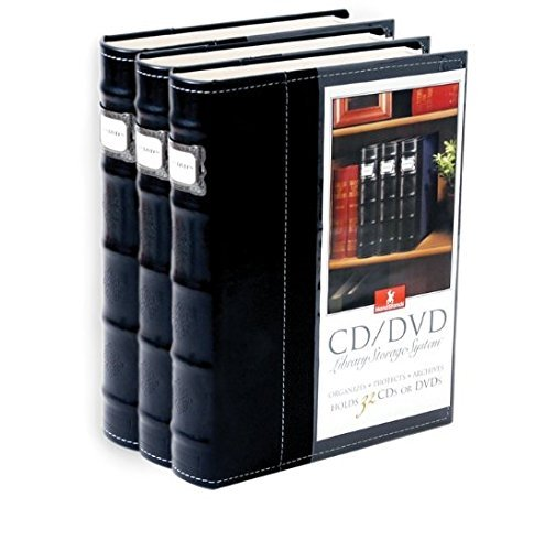 Amazon.com American Covers 11307 Black Vinyl Cd u0026 DVD Storage Binder / Organizer - 3 Pack Electronics  sc 1 st  Amazon.com & Amazon.com: American Covers 11307 Black Vinyl Cd u0026 DVD Storage ...