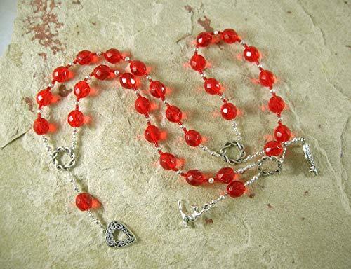 Freyja (Freya) Prayer Beads: Norse Goddess of Love, War, Passion, and Magic
