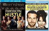 silver linings playbook - Jennifer Lawrence Silver Linings Playbook + American Hustle Blu Ray 2 Pack Drama Academy Award Winner Movie Set Double feature bundle