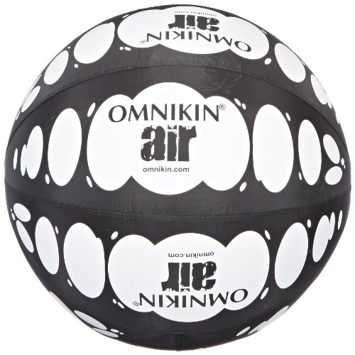 OMNIKIN Black/White Air Ball, 18'' Diameter by Omnikin