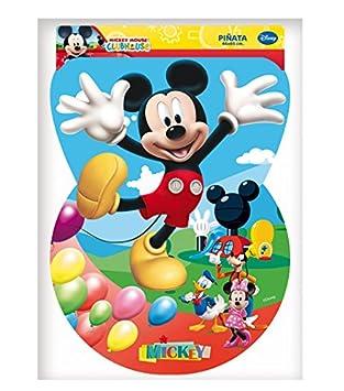 Mickey Mouse - Piñata Silueta Clubhouse, 46X65 cm (Verbetena ...