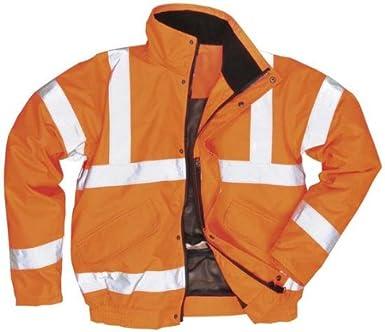 HI VIS VIZ COAT RAILWAY GORT WORK Mens Hi Visibility Road Safety Jacket Size S to 5XL By SITE KING