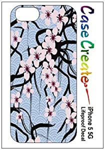 New Style Cherry Blossoms Decorative Sticker Decal for your iPhone 5 Lifeproof Case