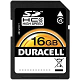 Duracell 16GB SD memory Card (DU-SD-16GB-R)