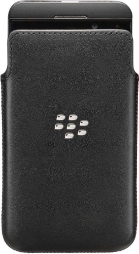 Blackberry ACC_49276_201 echtem Leder Schutzhülle für Blackberry Z10