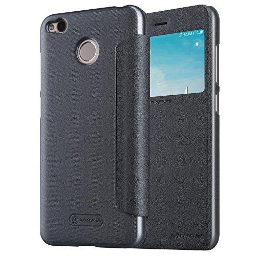 Kepuch Sparkle Xiaomi Redmi 4X Funda - Alta Calidad Estuche PU Cuero Brillante Escudos Carcasa Funda Smart Case Cover Cuero...