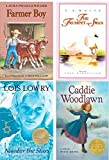 img - for Purple Book 5th Grade Reading Set for Learning Language Arts Through Literature: Farmer Boy, Trumpet of the Swan, Number the Stars, Caddie Woodlawn, 2015 edition 2015) book / textbook / text book