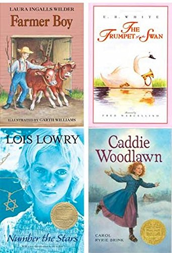Purple Book 5th Grade Reading Set for Learning Language Arts Through Literature: Farmer Boy, Trumpet of the Swan, Number the Stars, Caddie Woodlawn, 2015 edition 2015)
