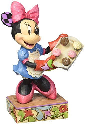 Enesco Jim Shore Disney Traditions Baker Minnie Figurine