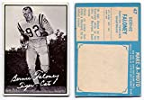 1961 Topps Bernie Faloney Card #47 Hamilton Tiger-Cats University of Maryland