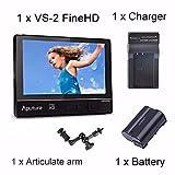 Aputure VS-2 Kit FineHD LCD Field Digital Monitor 7inch V-Screen VS-2 FineHD for DSLR
