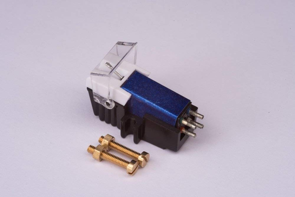 Cartridge and Stylus, needle with mounting bolts for YAMAHA YP211, YP400, YP450, YP700, YP800, YPB2, YPB4, YPD6, YPD71, YPD8, P500, P05, P06, P07, P17, P20, P751, P850, PF1000 Generic