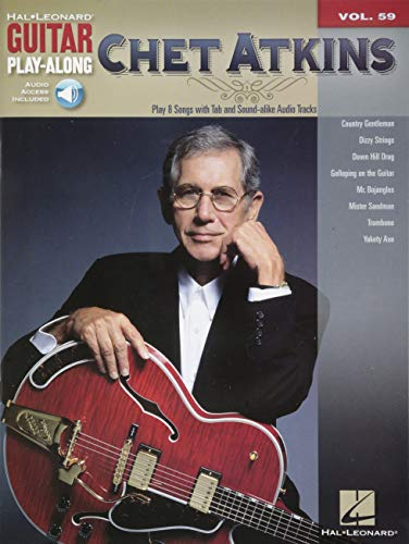 Chet Atkins: Guitar Play-Along Volume 59 (Hal Leonard Guitar - Atkins Style Guitar Chet